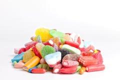 Mucchio dei dolci fotografie stock libere da diritti