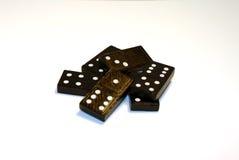Mucchio dei domino 2 Immagine Stock Libera da Diritti