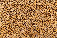 Mucchio dei firewoods tagliati Immagini Stock