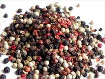 Mucchio multicolore del pepe Fotografia Stock Libera da Diritti