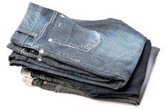 Mucchio dei jeans immagine stock libera da diritti