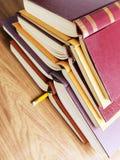 Mucchio dei libri Immagine Stock