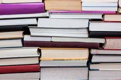 Mucchio dei libri Fotografia Stock