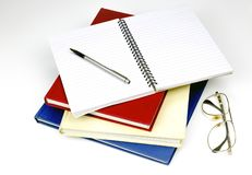 Mucchio dei libri Colourful fotografia stock