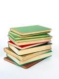 Mucchio dei libri del antiquarian immagine stock