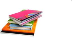 Mucchio dei libri e dei taccuini Fotografia Stock Libera da Diritti