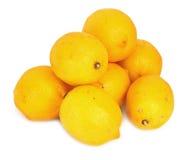Mucchio dei limoni immagini stock libere da diritti