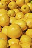 Mucchio dei limoni Fotografie Stock