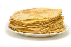 Mucchio dei pancake Fotografia Stock Libera da Diritti