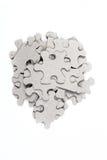 Mucchio dei pezzi di puzzle Immagine Stock
