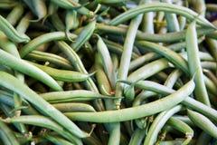 Mucchio dei piselli organici Fotografia Stock