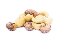 Mucchio dei pistacchi arrostiti Fotografie Stock