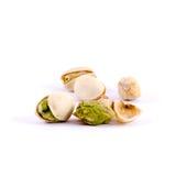Mucchio dei pistacchi salati Fotografia Stock Libera da Diritti
