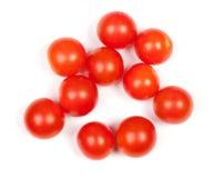 Mucchio dei pomodori ciliegia Fotografia Stock Libera da Diritti
