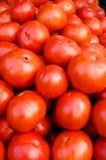 Mucchio dei pomodori rossi Immagini Stock Libere da Diritti