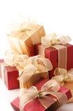 Mucchio dei regali Fotografia Stock
