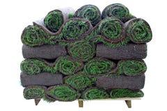 Mucchio dei rulli dell'erba Immagini Stock