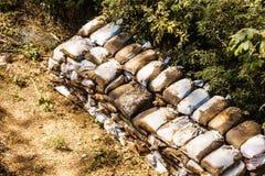 Mucchio dei sacchi Fotografia Stock Libera da Diritti