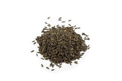 Mucchio dei semi della lattuga Fotografia Stock