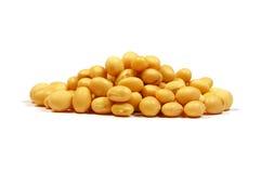 Mucchio dei semi della soia Immagine Stock Libera da Diritti