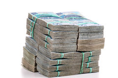 Mucchio dei soldi Fotografie Stock