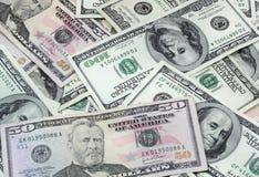 Mucchio dei soldi Fotografie Stock Libere da Diritti