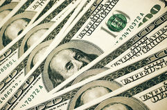 Mucchio dei soldi Fotografia Stock
