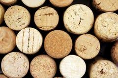 Mucchio dei sugheri del vino Immagine Stock Libera da Diritti