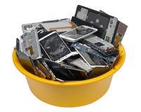 Mucchio dei telephotons cellulari rotti Immagine Stock Libera da Diritti