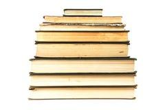 Mucchio dei vecchi libri Fotografie Stock Libere da Diritti