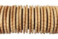 Mucchio del biscotto Fotografia Stock