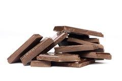 Mucchio del cioccolato immagini stock