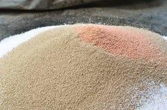Mucchio del fertilizzante chimico della pianta Immagine Stock Libera da Diritti