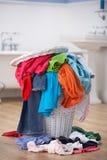 Mucchio del lavaggio sporco fotografia stock