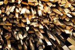 Mucchio del legname Fotografie Stock Libere da Diritti