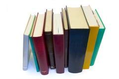 Mucchio del libro fotografia stock