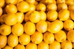 Mucchio del limone Fotografia Stock Libera da Diritti