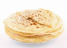 mucchio del pancake Fotografie Stock Libere da Diritti