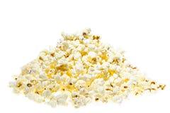 Mucchio del popcorn Fotografia Stock