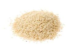Mucchio del seme di sesamo secco Immagini Stock Libere da Diritti