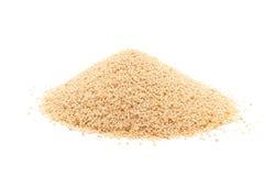 Mucchio del seme organico del papavero coltivato Immagine Stock