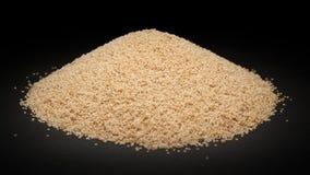 Mucchio del seme organico del papavero coltivato (papaver somniferum) Immagine Stock Libera da Diritti