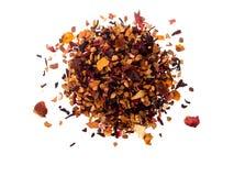 Mucchio del tè della frutta Immagini Stock