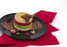 Mucchio delizioso dei pancake freschi Fotografia Stock