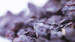 Mucchio dell'uva passa blu archivi video