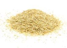 Mucchio della farina di soia Fotografia Stock