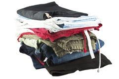mucchio della lavanderia Fotografie Stock Libere da Diritti