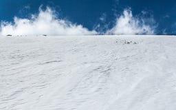 Mucchio della neve Immagini Stock