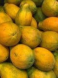 Mucchio della papaia dell'Olanda Fotografie Stock Libere da Diritti