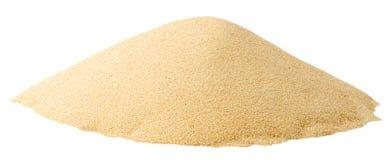 Mucchio della sabbia Immagini Stock